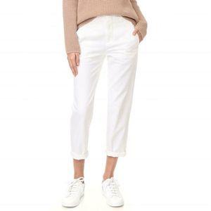 Vince White Chino Pants Size 6 Straight Leg